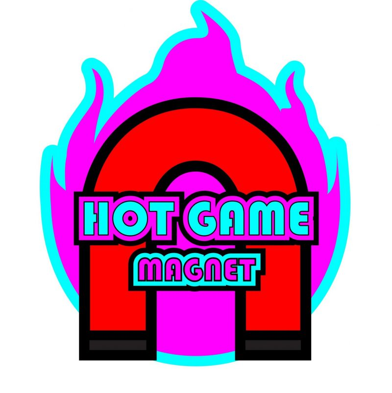 Hot Game Magnet Logo