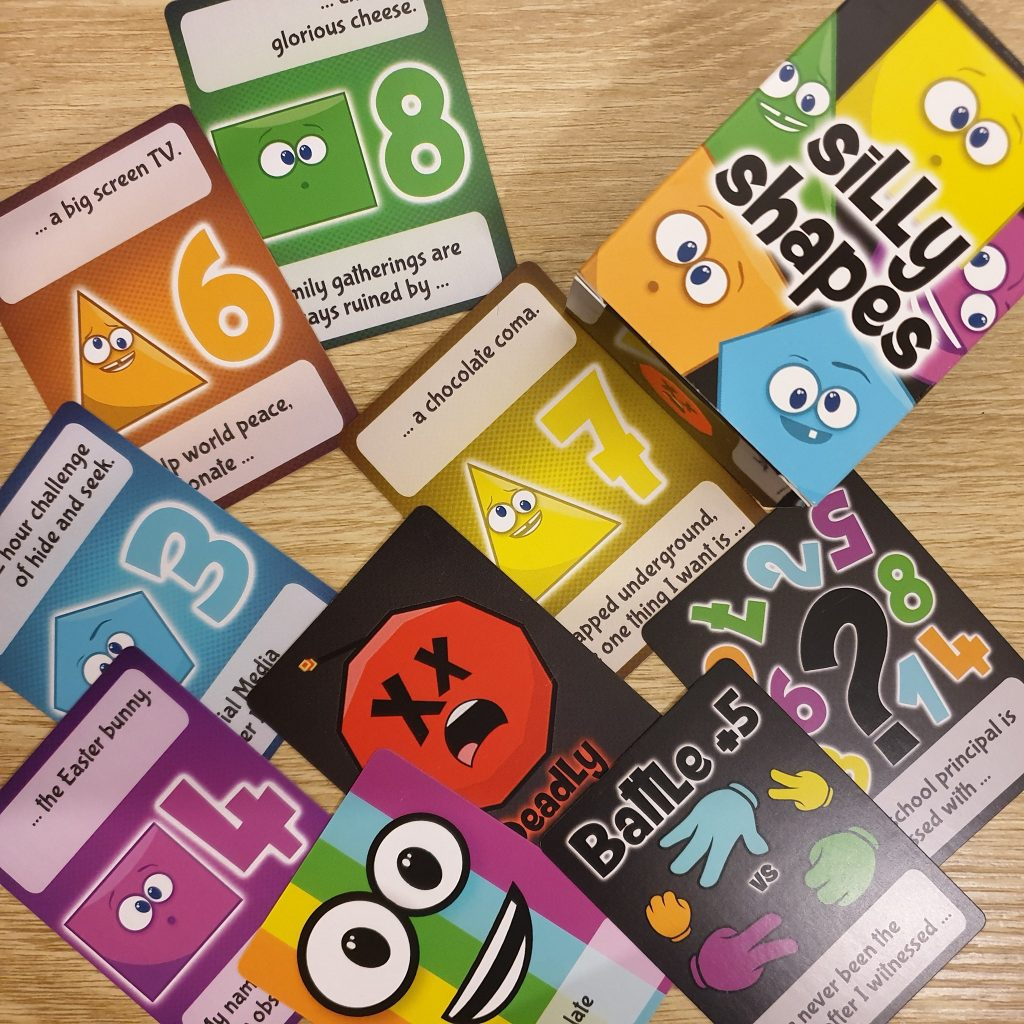 Silly Shapes Card Game