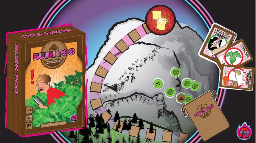Bush Poo board game on Kickstarter